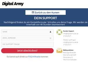 digital army support