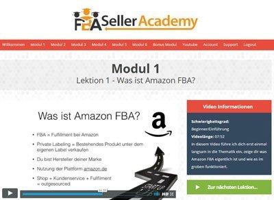 fba seller academy erfahrungen von user