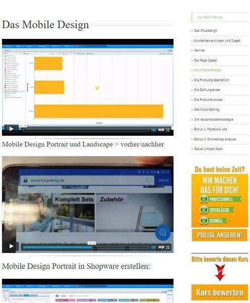 onlineshop mehr umsatz generieren