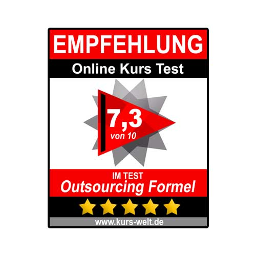 Outsourcing Formel Siegel
