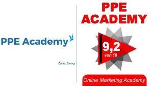 PPE Academy Titelbild