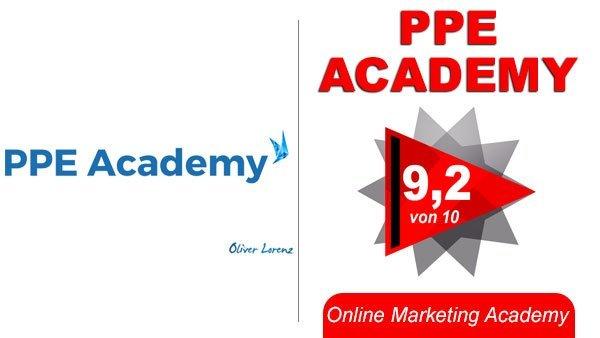 ppe academy erfahrungen 2018 test premium einblicke oliver lorenz online marketing. Black Bedroom Furniture Sets. Home Design Ideas
