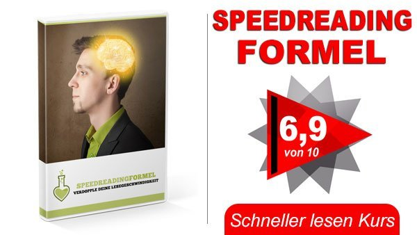 Speed Reading Formel Titelbild