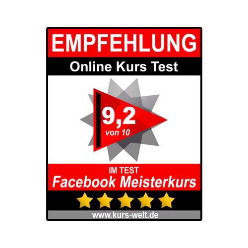 Review Wertung Facebook Meisterkurs