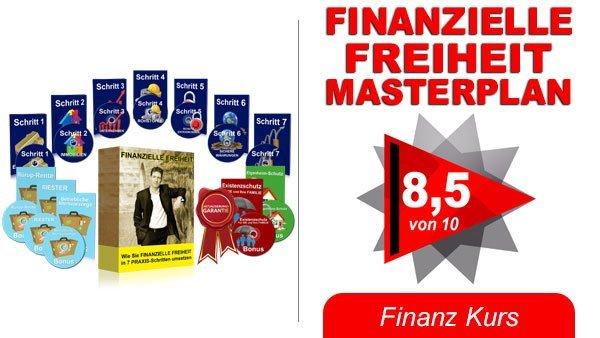 Finanzielle Freiheit Masterplan Bild