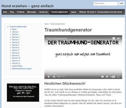 Traumhund generator