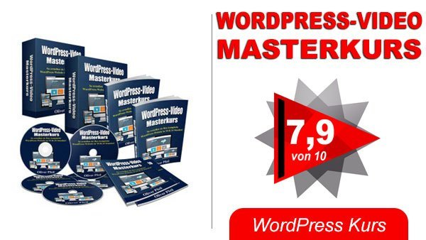 WordPress Video Masterkurs Titelbild