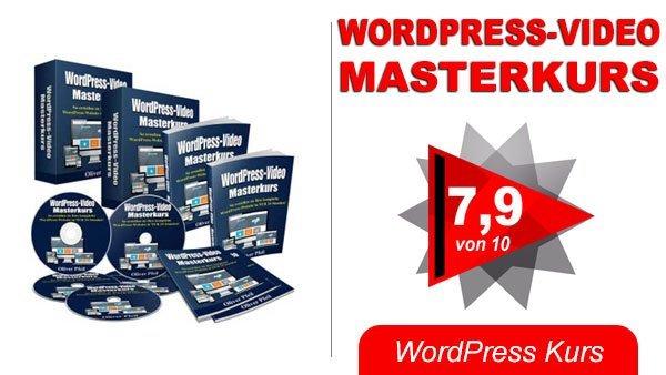 WordPress Video Masterkurs Titelbild