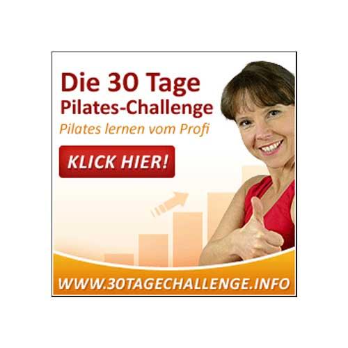 30 Tage Pilates Challenge Produkt Bild