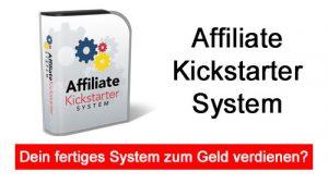 Affiliate Kickstarter System titelbild