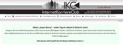 Internet Karriereclub