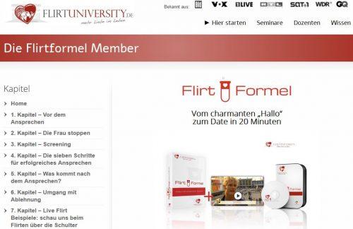 Startseite Flirtuniversity