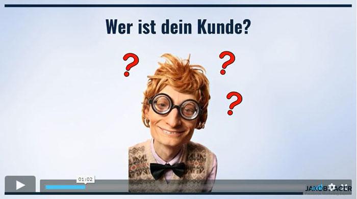 Theorie Wunschkundenformel mit Jakob Hager