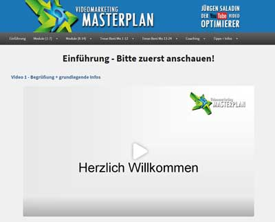 Video marketing Masterplan