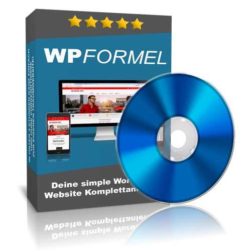 WP Formel 2 0 wordpress kurs von fredrik vogt