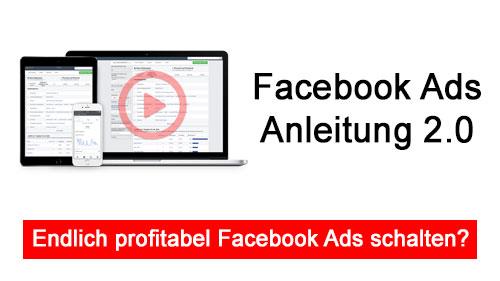 facebook Ads anleitung 2.0 titelbild