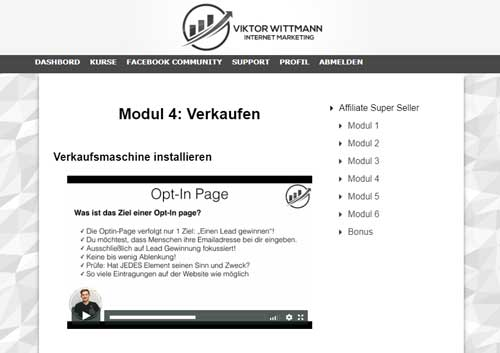 modul 4 verkaufen affiliate super seller